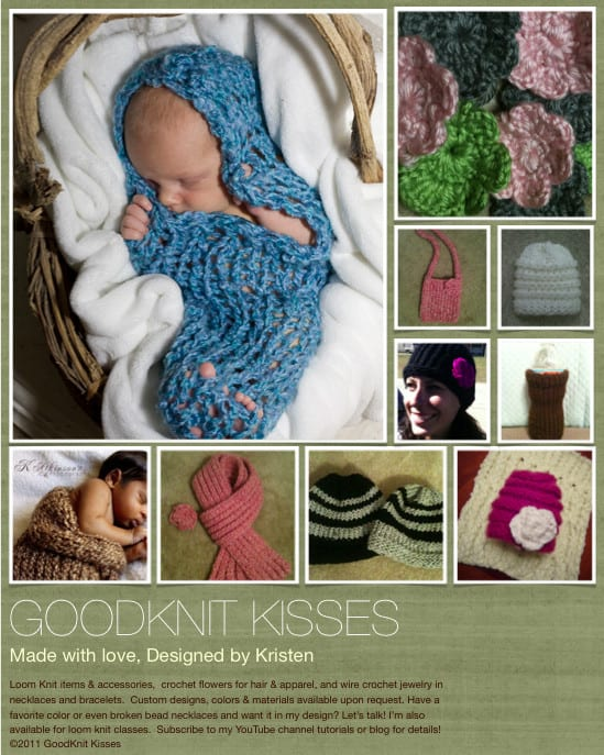 loom knitting design