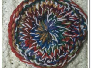 Loom Knit Granny Round Pattern