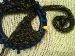 Loom Knit: Earflaps