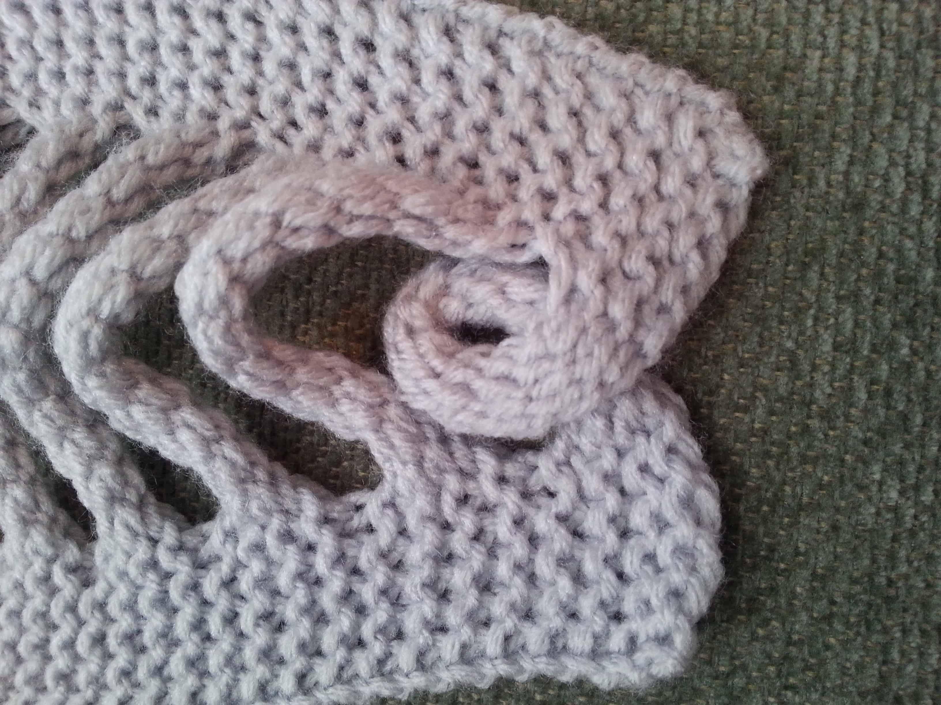 Knit Braid Pattern : Faux Braid Pattern Loom Knit - GoodKnit Kisses