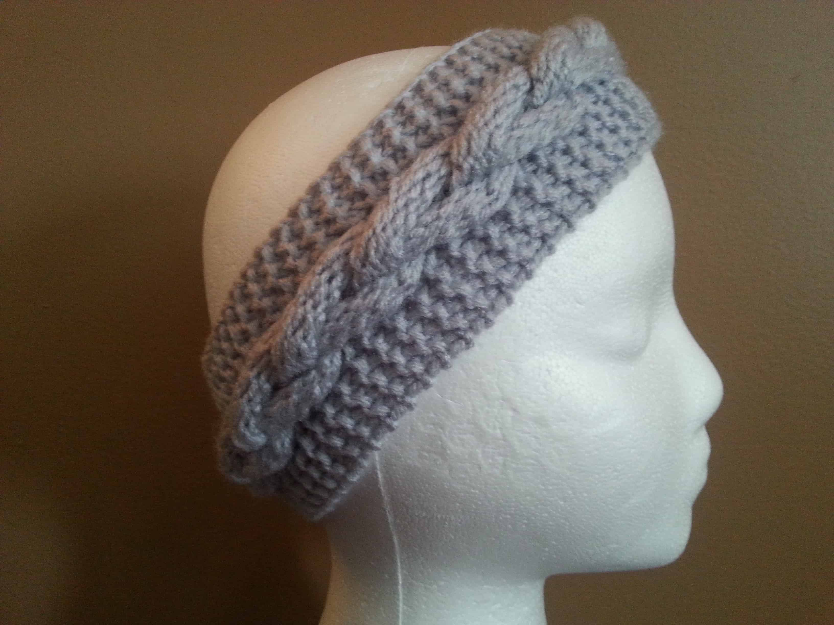 Faux Braid Pattern Loom Knit Goodknit Kisses