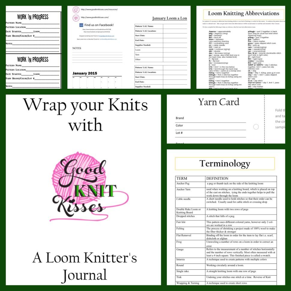 A Loom Knitters Journal