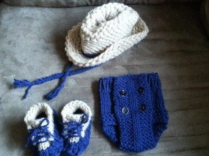 Loom Knit Diaper Cover | Infant
