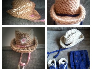 Loom Knit Cowboy Hat | Infant