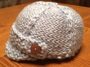 Zeppelins Newsboy Cap | Loom Knit