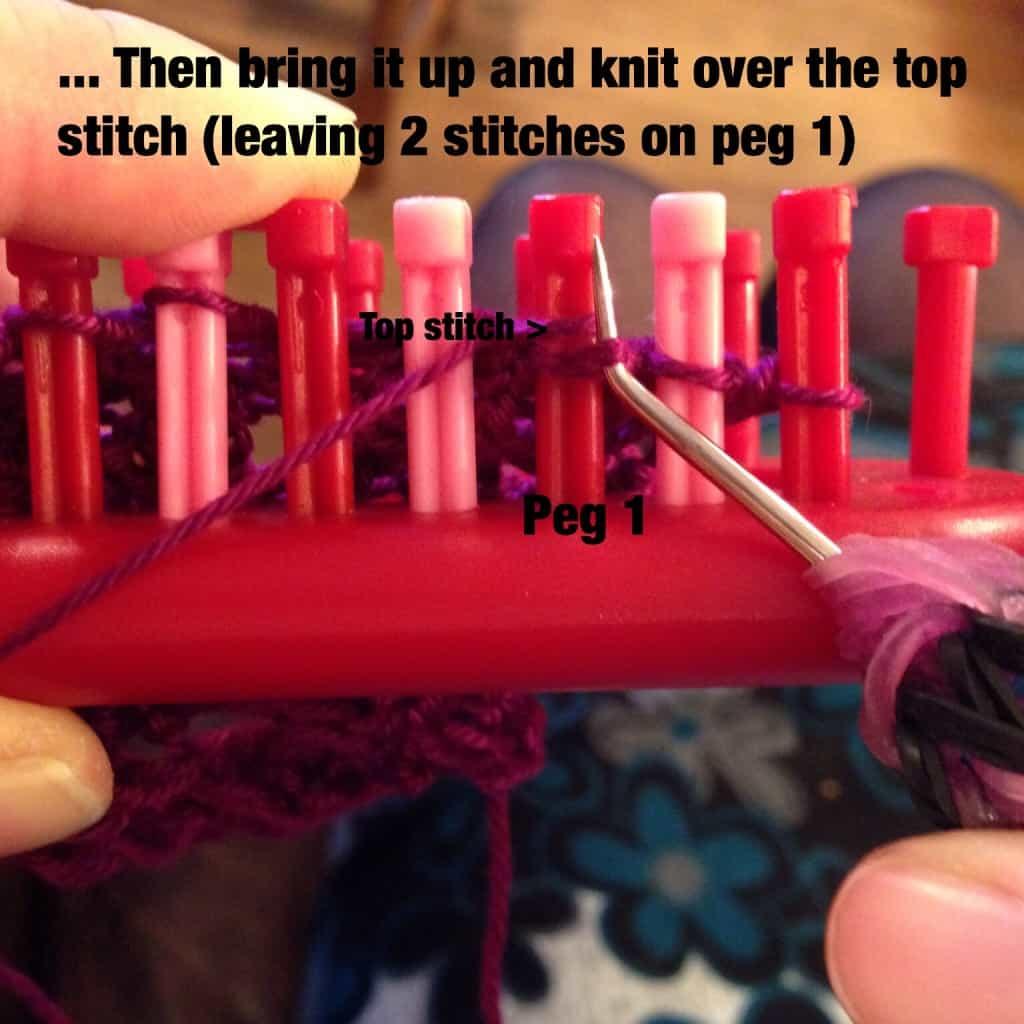 Figure G Dewdrop stitch