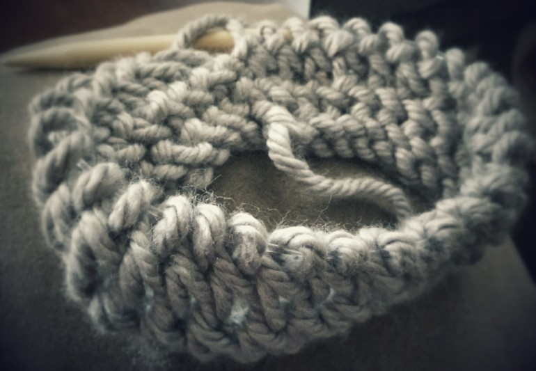 Knit Mesh Stitch In The Round : Diamond Lace Stitch (DLS) Needle Knit - GoodKnit Kisses