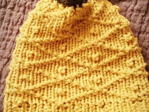 Pineapple Hat | Loom Knit Pattern