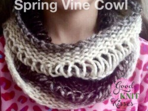 Drop Stitch Cowl | Loom or Needle