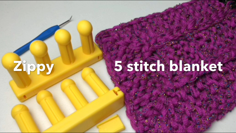 5 stitch blanket
