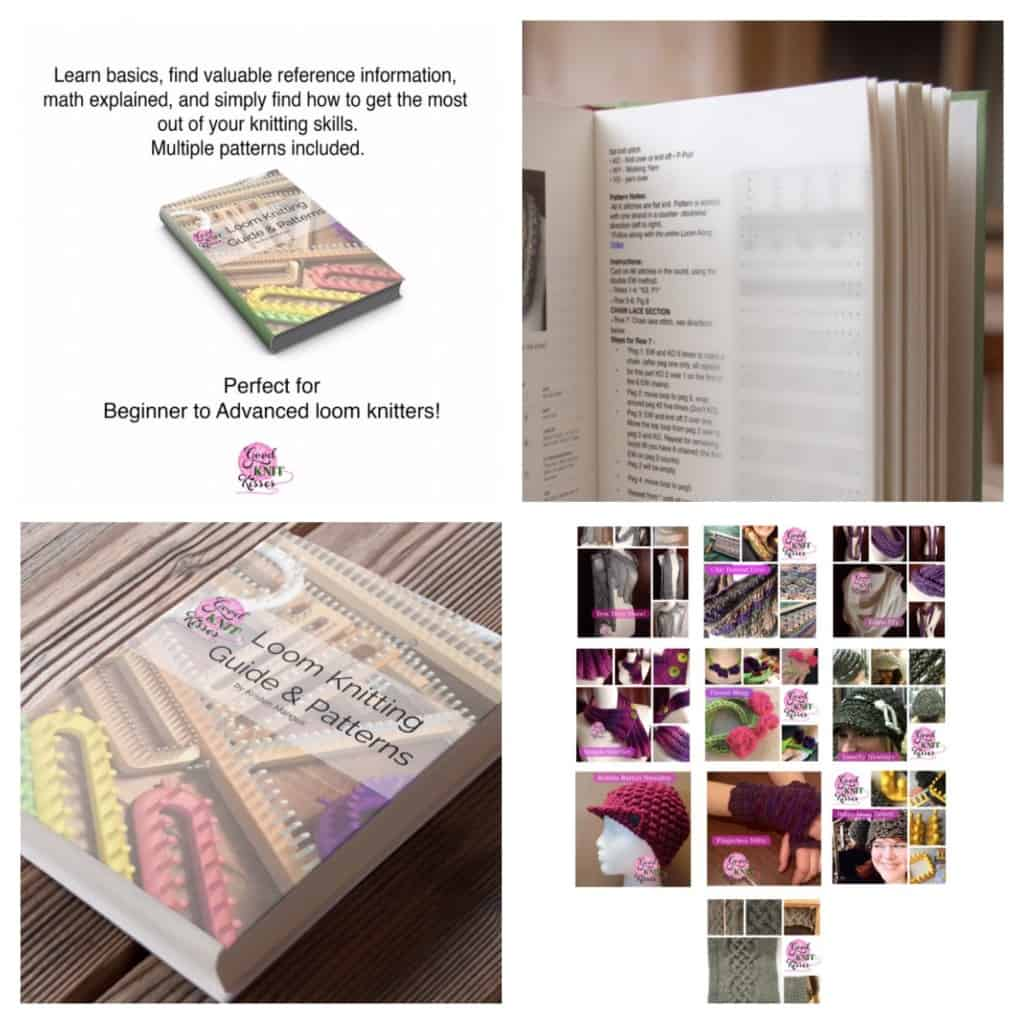 Loom Knitting Guide & Patterns eBook 2nd Edition available ...