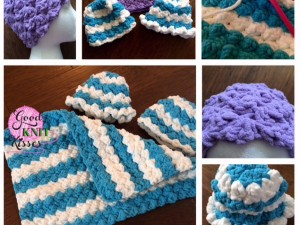 Marshmallow Crochet Baby Blanket - GoodKnit Kisses