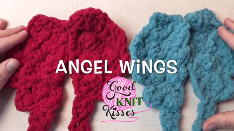 Angel Wings - Crochet GoodKnit Kisses - GoodKnit Kisses
