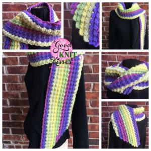 Marshmallow Crochet Scarf