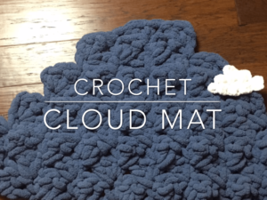 Crochet Cloud | Make a Cloud Photo prop &accent
