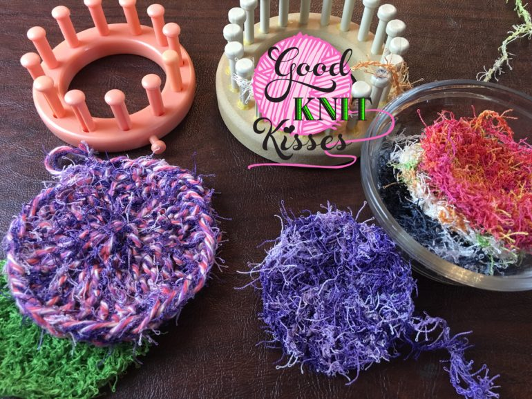 Loom Knit Scrubby