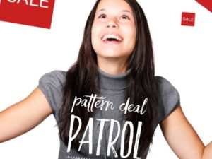 Pattern Deal Patrol – Bookmark for Coupons!
