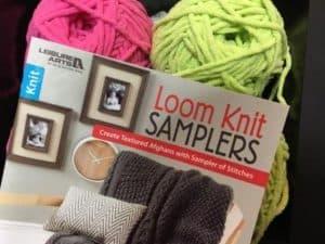 loom knit samplers book