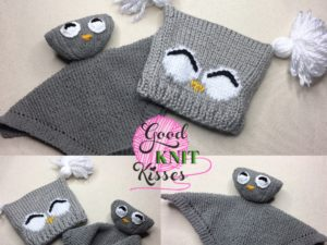 Owl Knit Lovey | Yarnspirations