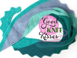 Step It Up Knit Shawl | Boomerang Shawl