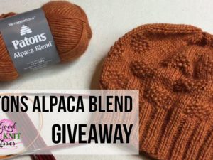 Patons Alpaca Blend Giveaway!