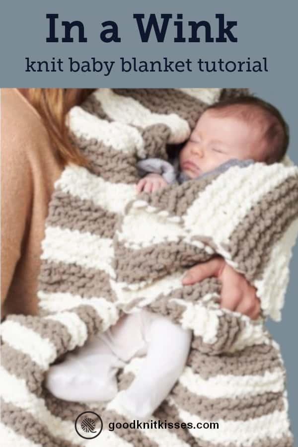 In a Wink baby blanket