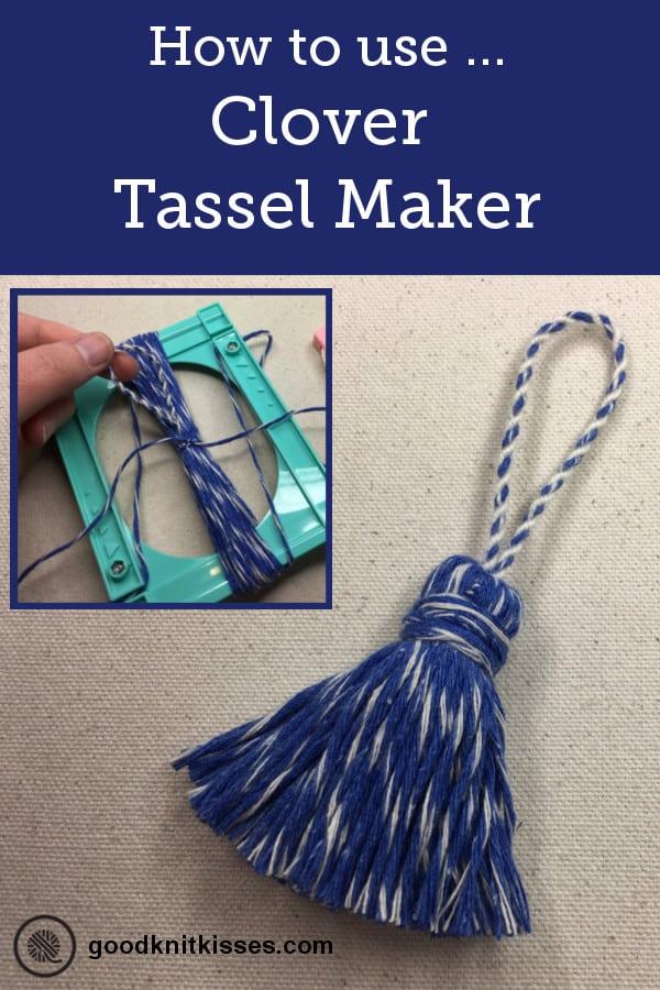 Clover Tassel Maker and Handy Thread Twister