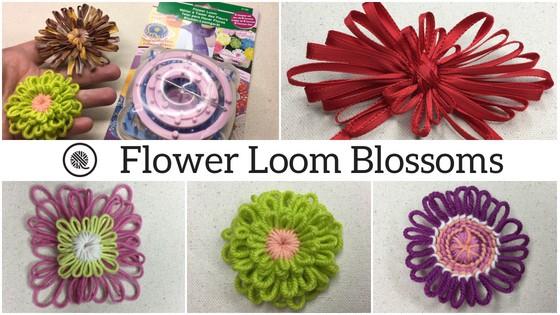 Creative Flower Loom Blossoms!
