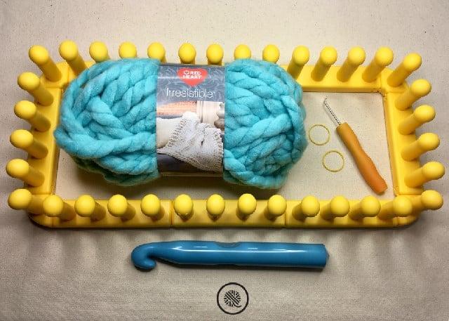 Big Stitch Throw Supplies