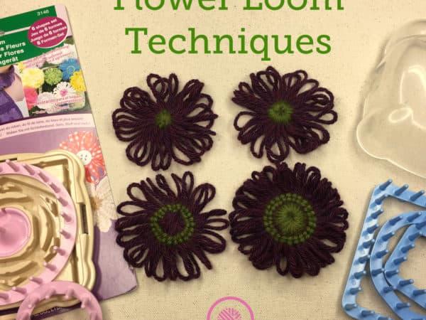 Flower Loom Techniques   Hana-Ami Flower Loom