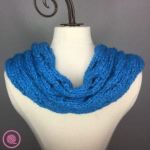 Rolling Waves Cowl back view