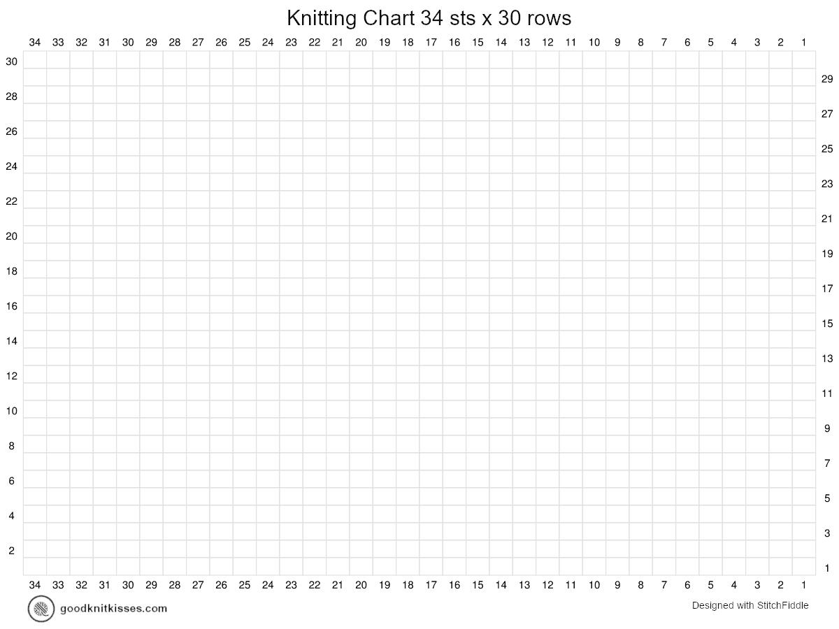 duplicate stitch charts blanket chart wide