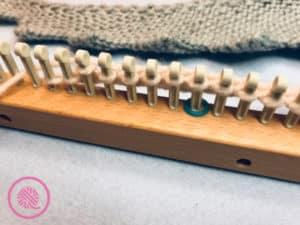 Loom Knit Shawl Stitch marker 1