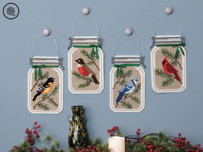 Crafty Gift Ideas Bird Plastic Canvas Was Hanging