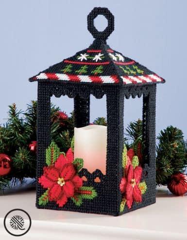 Crafty Gift Ideas Christmas Lantern Centerpiece