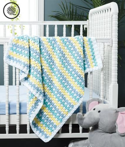 Crafty Gift Ideas Crochet Side to Side Blanket