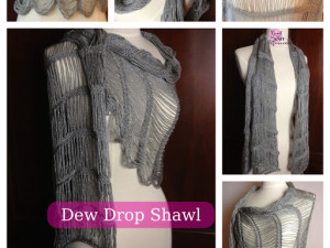 Dew Drop Shawl Pattern