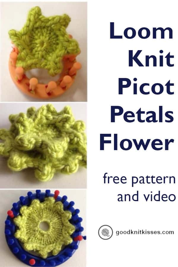 Picot Petals Pin Image