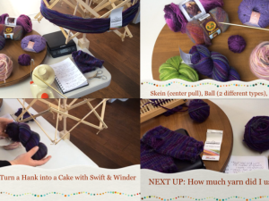 Yarn Class 101 Yarn Lingo & calculate yards