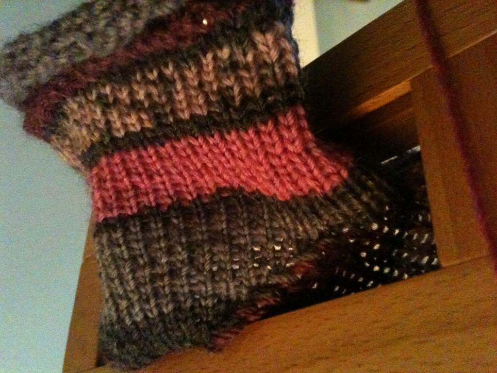 flat knit stitch