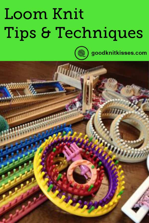 Looms of various sizes and shapes