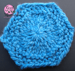 granny hexagon granny round