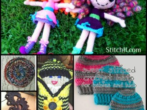 6 FREE gift patterns to Loom or Crochet