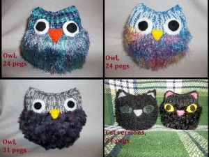 Loom Knit Owl – free pattern