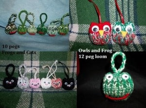 Loom Knit Owl