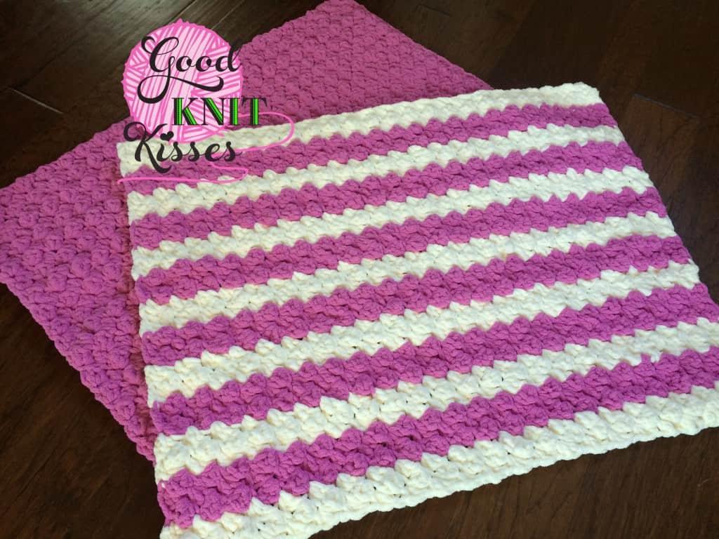 Marshmallow Crochet Baby Blanket