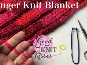 How to Finger Knit a Blanket