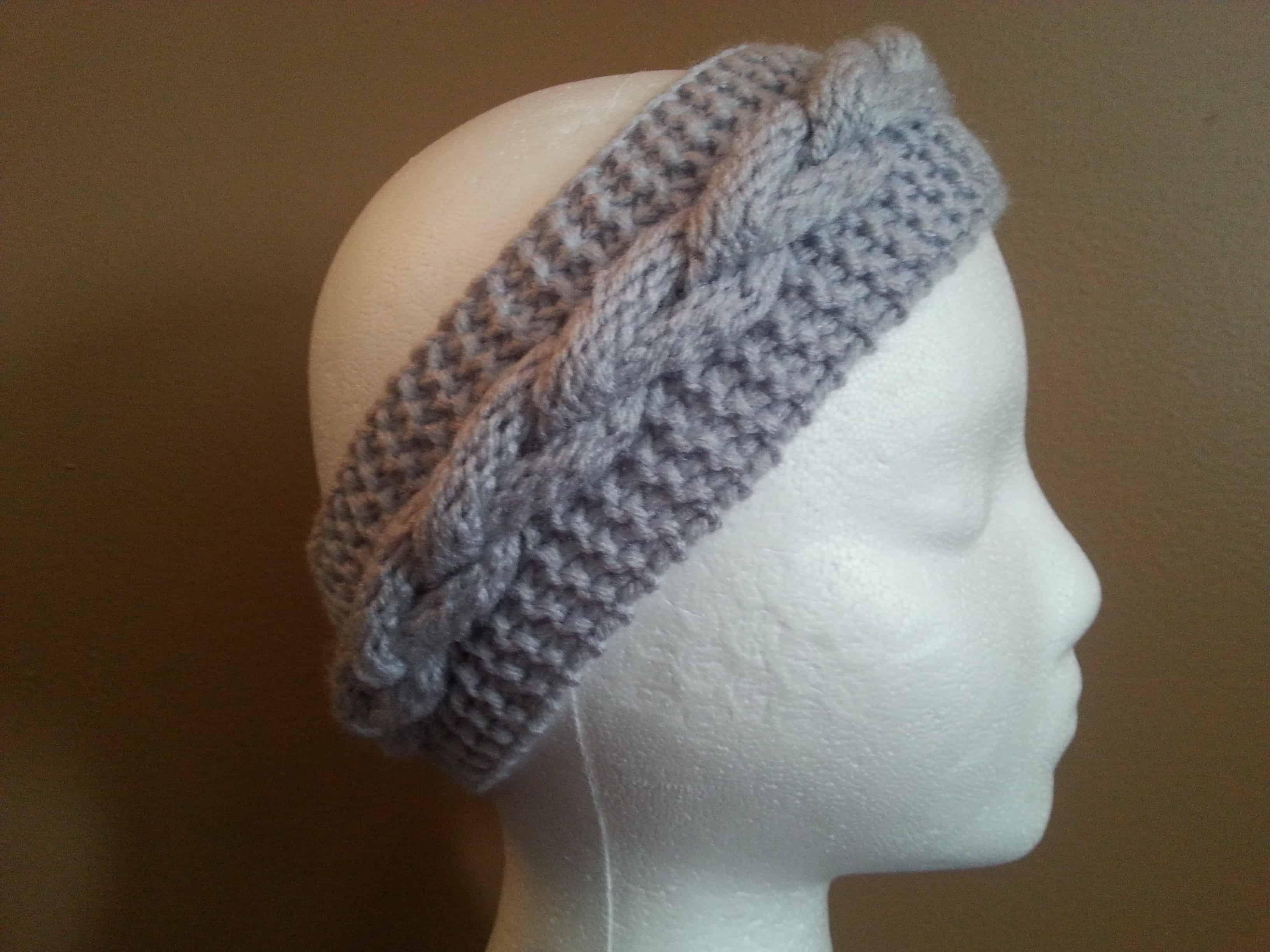 Faux Braid Pattern Loom Knit Goodknit Kisses