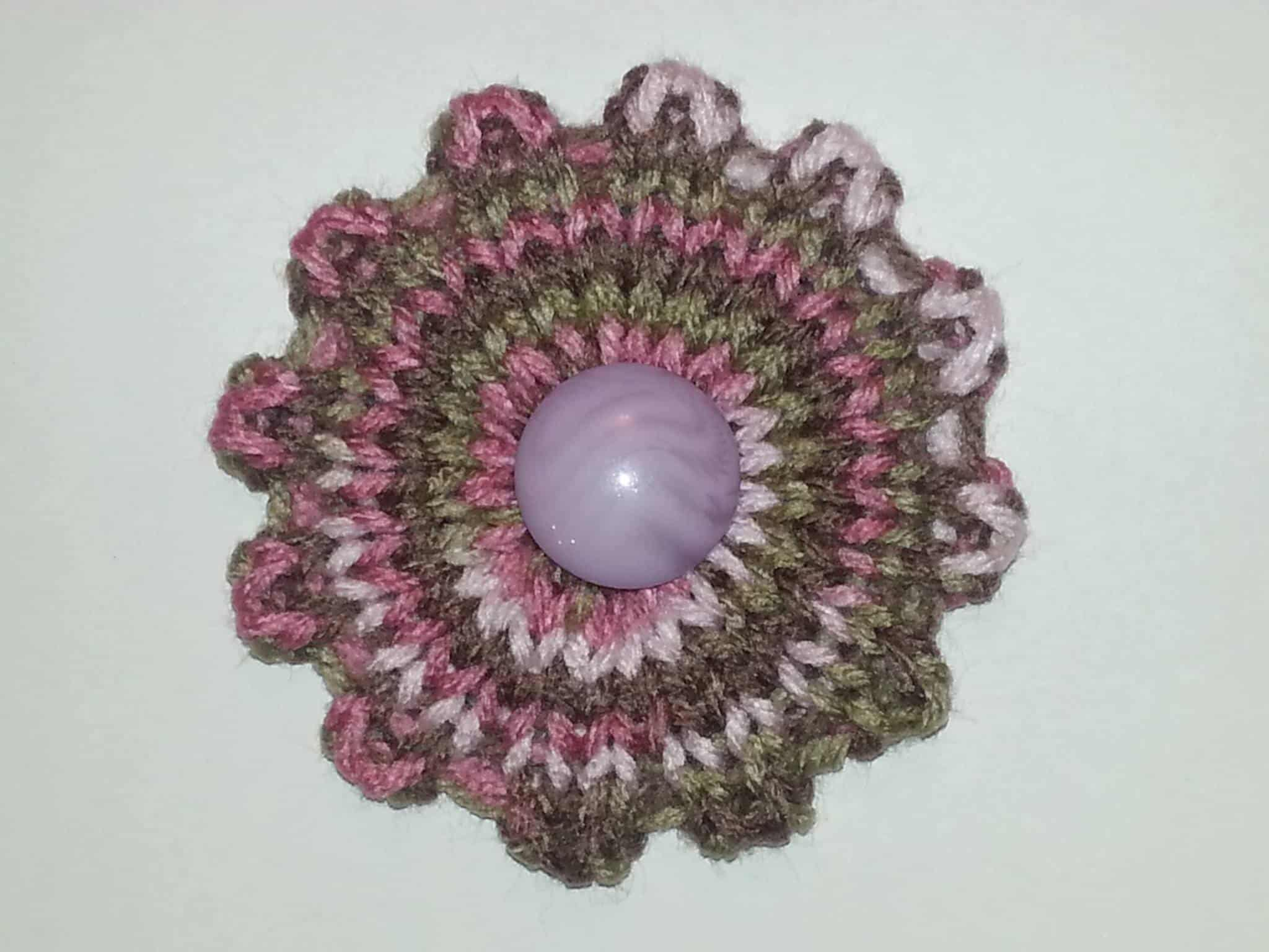 Quick Knit Flower | Loom Knit Pattern
