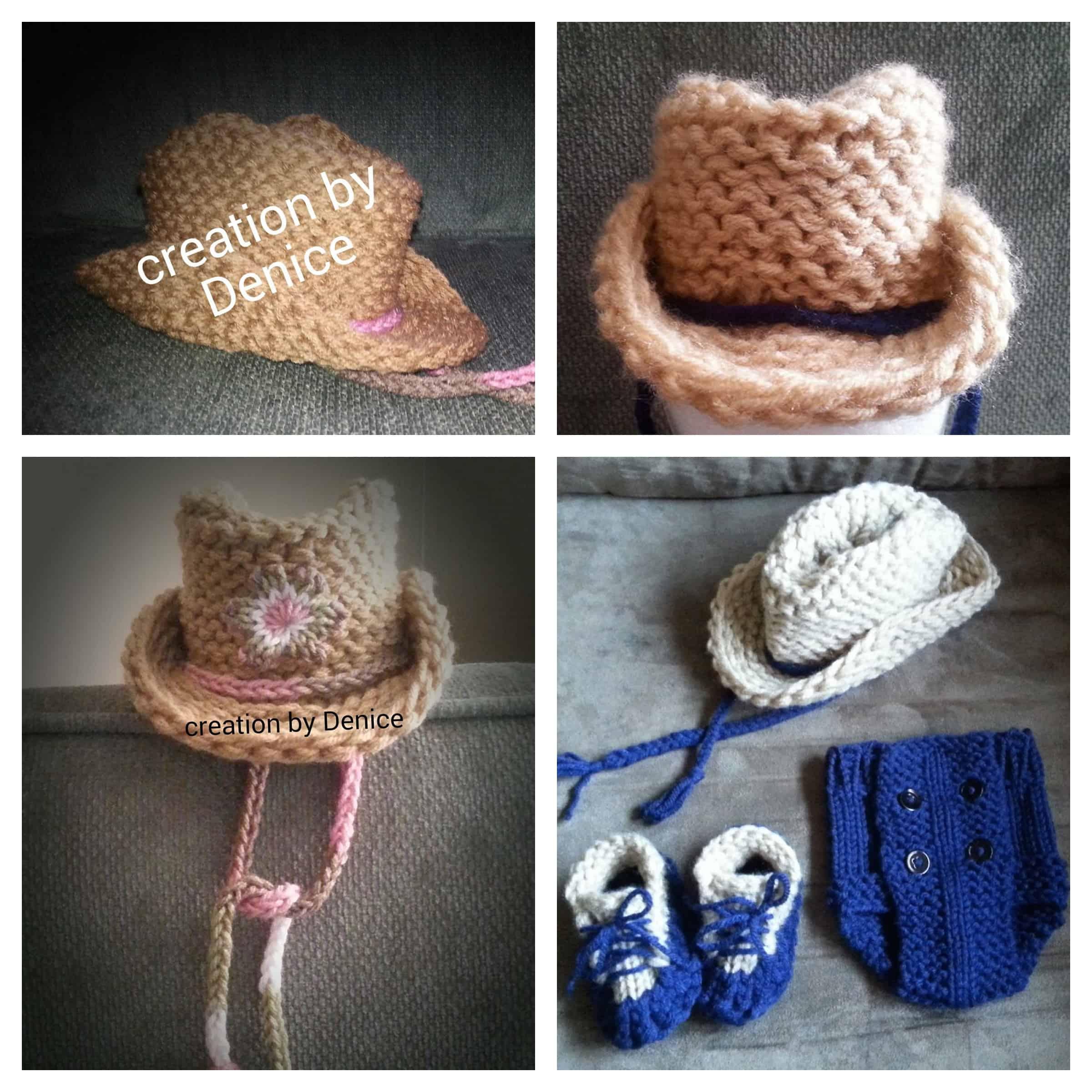 Loom Knit Cowboy Hat | Infant